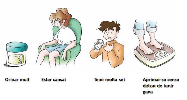 símptomes de la diabetis que has de reconèixer per detectar la a